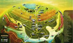 Mapa de Brasilia DF