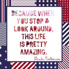 Because when you stop & look around,  this life is pretty amazing.  PaulaTooths.com  ೋ Paz ೋ  #gratitude #leadership #success #goals #changes #positive #motivation #inspire #happiness #chances #opportunities #possibilities #smile  #goodvibes  #dreams #quotes #hope #faith #abundance #fearless #inspiration #reachyourgoals #positivethinking #paulatooths #socialmedia  #digitalmarketing #businessstartup…