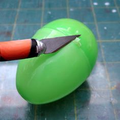 Kael Mijoy: Polymer Clay Tutorial: Preparing a Plastic Egg for Covering