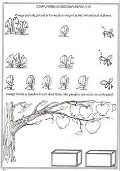 pregatirea pentru scoala a copilului prescolar -matematica - Kiss Virág - Picasa Web Albums Addition Worksheets, Worksheets For Kids, Kindergarten Worksheets, Animal Worksheets, Farm Animals, Mathematics, Preschool, Crafts, Kiss