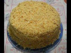 "Домашний торт ""Наполеон"". РЕЦЕПТ"