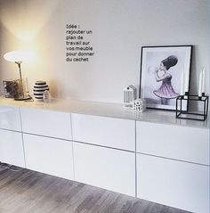 Album – 11 – Besta range (Ikea) Offices, libraries, customer achievements, realizations stores - New Deko Sites Living Room Grey, Home Living Room, Ikea Office, Home Decor Bedroom, Family Room, Sweet Home, New Homes, House Design, Interior Design