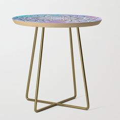 From sideshow to show-stopper, our side tables will be a stunning modern accent to your space. Yellow Side Table, White Side Tables, Lichtenstein Pop Art, Chinoiserie, Art Nouveau, Art Deco, Garden Side Table, Eugenia Loli, Guernica