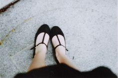 Cute t-strap shoes