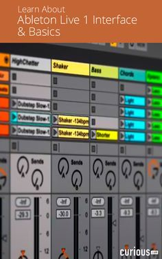 The first thing that needs to be explored when working with a new digital audio workstation program like Ableton Live 1 is its interface. In this detailed beginner course, aspiring DJs, audio engineers, and producers alike learn how to navigate Ableton Live's interface and discover its basic functions. Learn how to work in Session View and Arrangement View, how to edit clips and preferences, and important keyboard shortcuts for quick production.