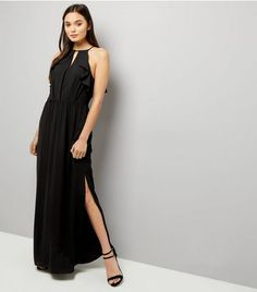 Front Keyhole Cut Out Maxi Dress from New Look £29,99