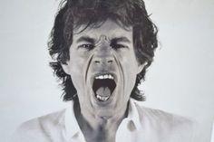 [Foto di Mick Jagger] - Spazio900 Modernariato