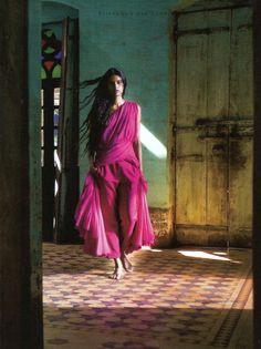 Drama.  Model - Lakshmi Menon Photographer - Dasgupta
