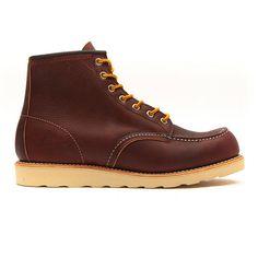 Red Wing - 8138 6 Inch Moc Toe Heritage Work Boot – Dark Brown