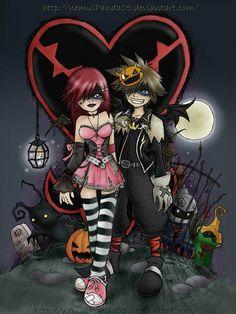 halloween town sora kairi - Roxas Halloween Town