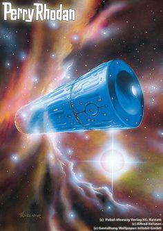 Perry Rhodan, Science Fiction Art, Space Station, Spacecraft, Cover Art, Audiobooks, Sci Fi, Reading, Futuristic