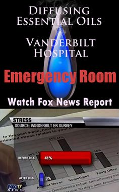 Watch Fox News Report ~ Essential Oils Diffused in Vanderbilt Hospital ER Diffuser GIVEAWAY Ends Thurs @ 6pm MDT! 1 hr left!