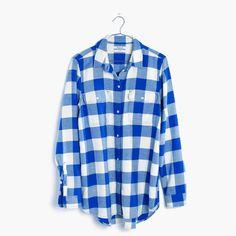 Flannel Classic Ex-Boyfriend Shirt in Buffalo Check