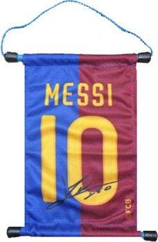 FC Barcelona gadgets - sjotterskraam wimpeltje Messi