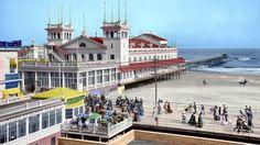 Steeplechase Pier colorized. 1905. Shorpy