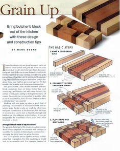 Making End Grain Table Top - Woodworking Tips and Techniques - Woodwork, Woodworking, Woodworking Plans, Woodworking Projects Woodworking Courses, Woodworking School, Learn Woodworking, Woodworking Patterns, Woodworking Workshop, Woodworking Techniques, Woodworking Plans, Woodworking Projects, Woodworking Education