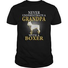 GRANDPA WITH A BOXER SHIRTS