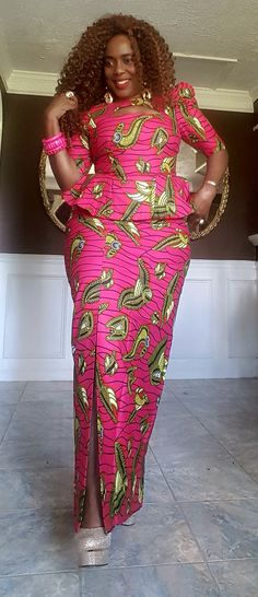 Short African Dresses, Latest African Fashion Dresses, African Print Fashion, Africa Fashion, African Fashion Traditional, African Print Dress Designs, Kitenge, African Attire, Scarf Tieing
