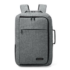 Unisex 15.6 Laptop Backpack Convertible Briefcase 2-in-1 Business Travel  Luggage Carrier. School BagsMessenger ... 237598a6a3f5a