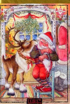 Christmas Artwork, Christmas Arts And Crafts, Christmas Images, Vintage Christmas, Christmas Graphics, Christmas Banners, Christmas Greetings, Christmas Cards, Christmas Scenes