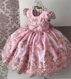 Flower Girls Dress Years Baby Dress for Girls Kids Wedding Gown Princess Party Vestidos Infantis Kid Girls Floral Clothes, Ropa de niña, Gowns For Girls, Tutus For Girls, Girls Dresses, Baby Girls, Party Gown Dress, Ball Gown Dresses, Baby Girl Party Dresses, Baby Dress, Dress Girl