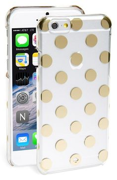 Free shipping and returns on kate spade new york 'le pavilion' iPhone 6 case at Nordstrom.com. Goldtone dots lend signature sophistication to a transparent hard-shell case designed to shield your tech from scuffs and scratches.
