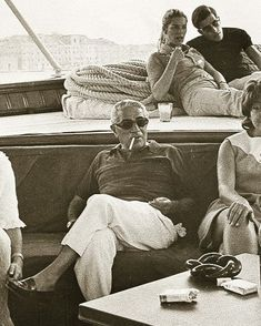We must free ourselves of the hope that the sea will ever rest. We must learn to sail in high winds. Jackie Kennedy Style, Jacqueline Kennedy Onassis, Famous Men, Famous People, Greece History, Maria Callas, Man Smoking, Fun Shots, Vintage Rolex