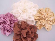 PDF Tutorial Petal Blossom Brooch or Hair by PinsAndNeedlesDIY