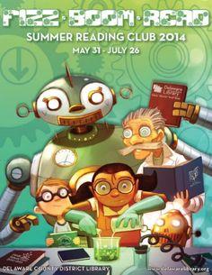 Fizz Boom Read • Summer Reading Club 2014