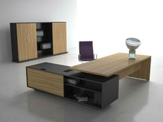 Elegant Home Office Furniture: Oak Desk And Cabinet   Home Office Is One Of  Important Room Due To It Uses For Working Area. To Create A Conducive Home  ...