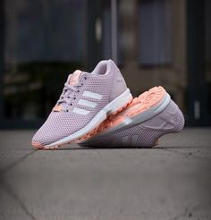 adidas ZX Flux Damen Laufschuhe Lila Sneakers