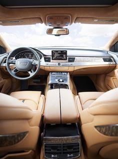 Phantom Black Audi A8 L W12 by Audi USA, via Flickr