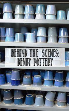 Take a tour around the Denby Pottery Village