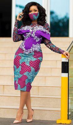 African Fashion Ankara, Ghanaian Fashion, African Outfits, Latest African Fashion Dresses, African Print Dresses, African Print Fashion, Asian Fashion, Fashion Prints, Latest African Styles