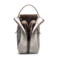 8d93e7b914 Heschung x Bleu de Chauffe   Boots Bag - Laine Arpin - Cuir Yucatan    Inspiré