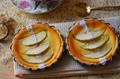 Tartaletas de queso y manzanas. | Cuchillito y Tenedor