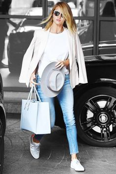Rosie Huntington-Whiteley Found The Perfect Late-Summer Outfit  #refinery29  http://www.refinery29.com/2015/08/91914/rosie-huntington-whiteley-blazer-outfit#slide-1  While exiting her hotel in London, Rosie Huntington-Whitely looked effortlessly on-point (as usual) in a pastel-inflected transitional summer-to-fall outfit that we need right now. ...