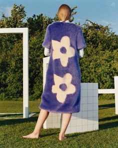 """Even the heavy-duty furs in this collection feel fresh through summer, thanks to """"ice cream"""" hues"""