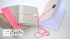 Tiny Handmade Notebooks From An Unlikely Material