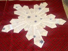 SnowFlake Dresden Plate