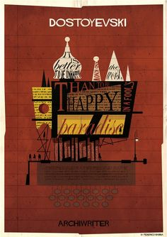 """Federico Babina's ARCHIWRITER Illustrations Visualize the """"Architecture of a Text"""""""