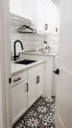 120 Best Laundry Room Decor Ideas and Design For 2019 laundry . 120 Best Laundry Room Decor Ideas and Design For 2019 laundry closet organization White Laundry Rooms, Mudroom Laundry Room, Laundry Room Remodel, Laundry Room Cabinets, Farmhouse Laundry Room, Laundry Room Design, Laundry In Bathroom, White Rooms, Laundry Room Floors