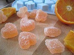 Caramelle gelèe all'arancia rossa