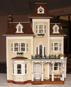 beacon hill dollhouse | Grand Beacon Hill Dollhouse Drawing at the Rockaway Beach Stroll ...