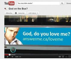 God on the bus?