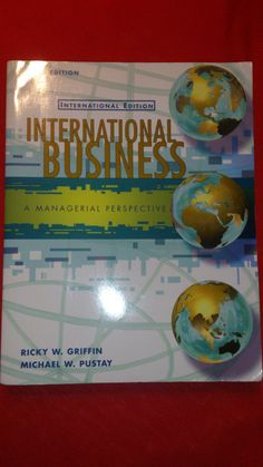 international Business - A Managerial Perspective. Perspective, Ebay, Business, Cover, Books, Libros, Perspective Photography, Book, Store