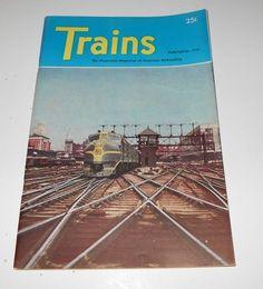 Trains Magazine Back Issue February 1947 Volume 7 Number 4      4072