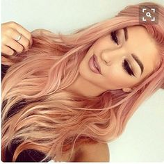 I know what my next hair color is going to be #rosegoldhair #rosegold