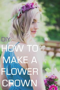A Tutorial on How to Make Flower Crowns and Combs | Kennedy Blue