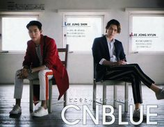 CNBLUE in Ray Magazine (November 2014)